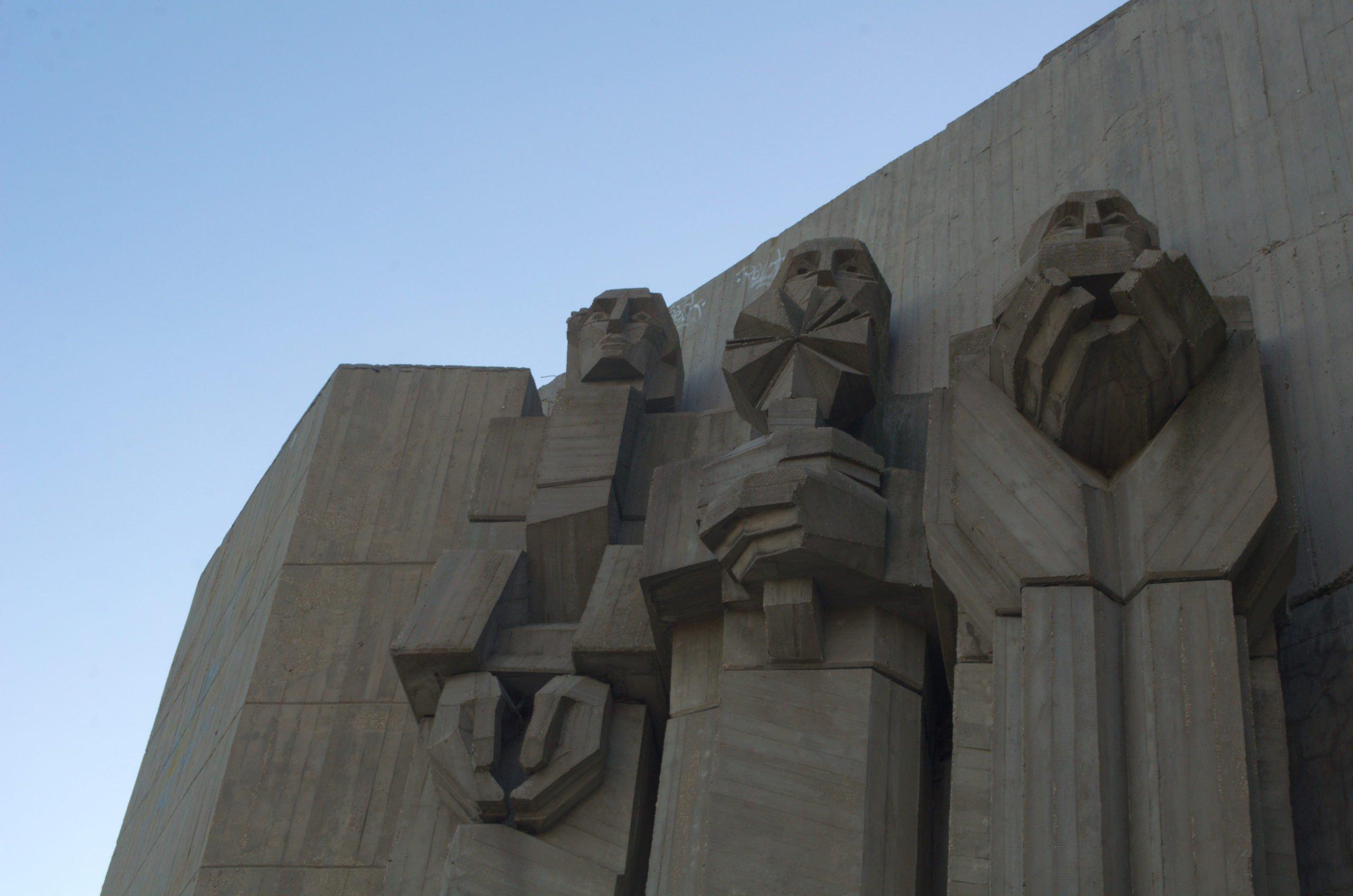 Communist era Sculptures in Bulgaria By trabantos.