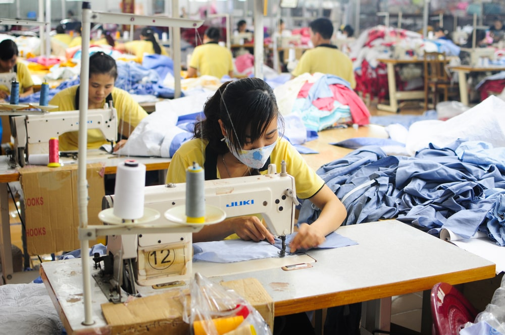 garment workers vietnam