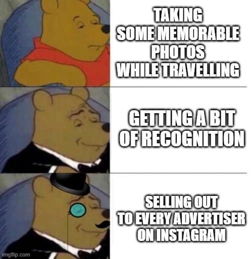 influencers are stupid meme