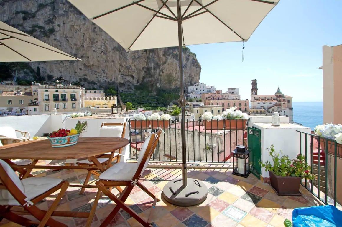 Casa Marina Terrace on the Sea, Amalfi Coast