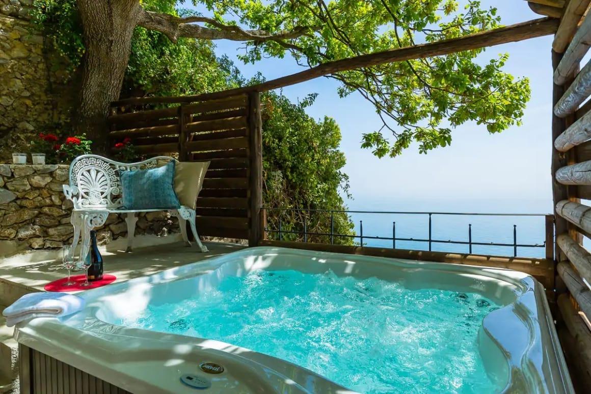 Villa With Sea View and Heated Jacuzzi, Amalfi Coast