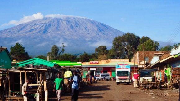 Kenya Tanzania Border