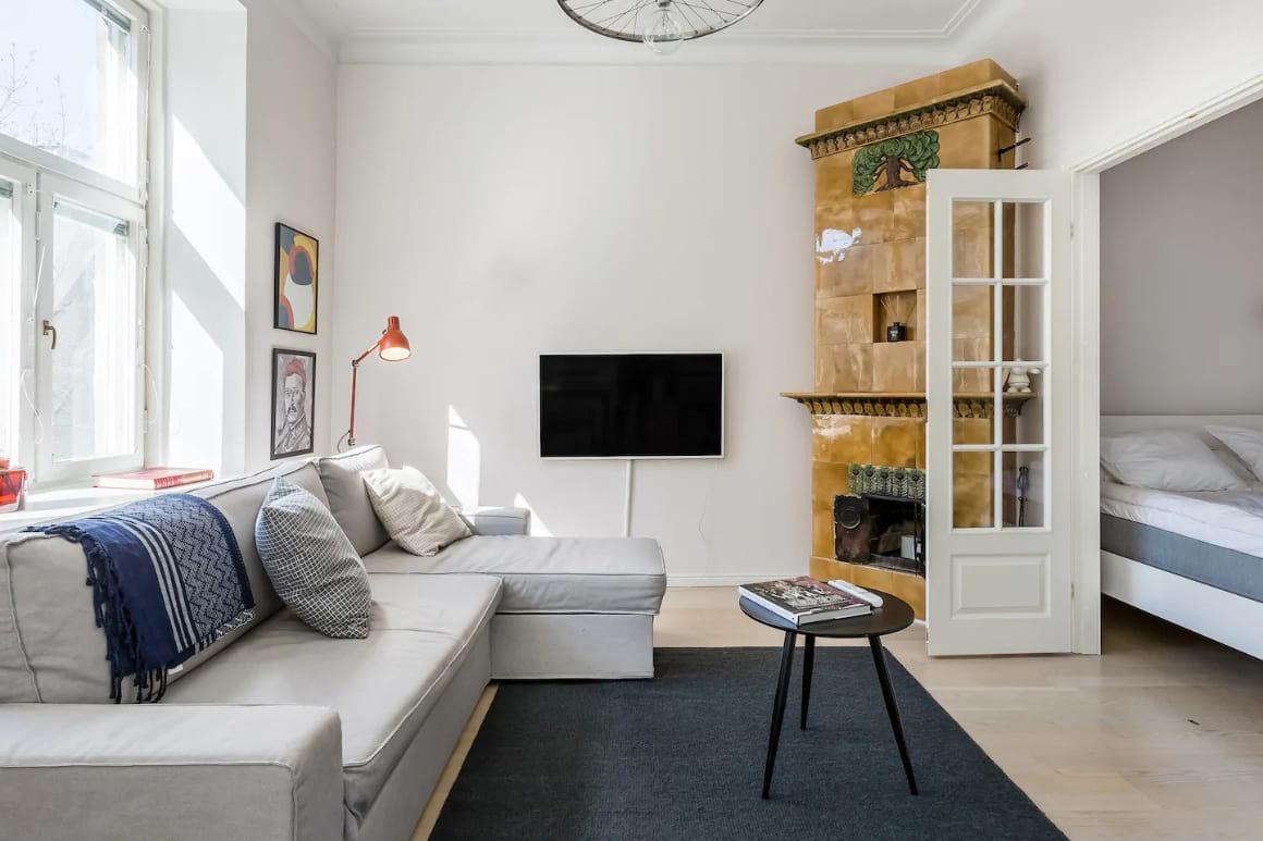 Classy Nordic Apartment 1