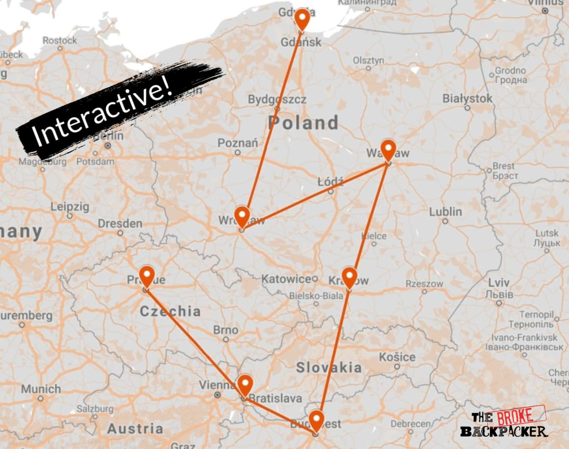 Eastern Europe Itinerary 1
