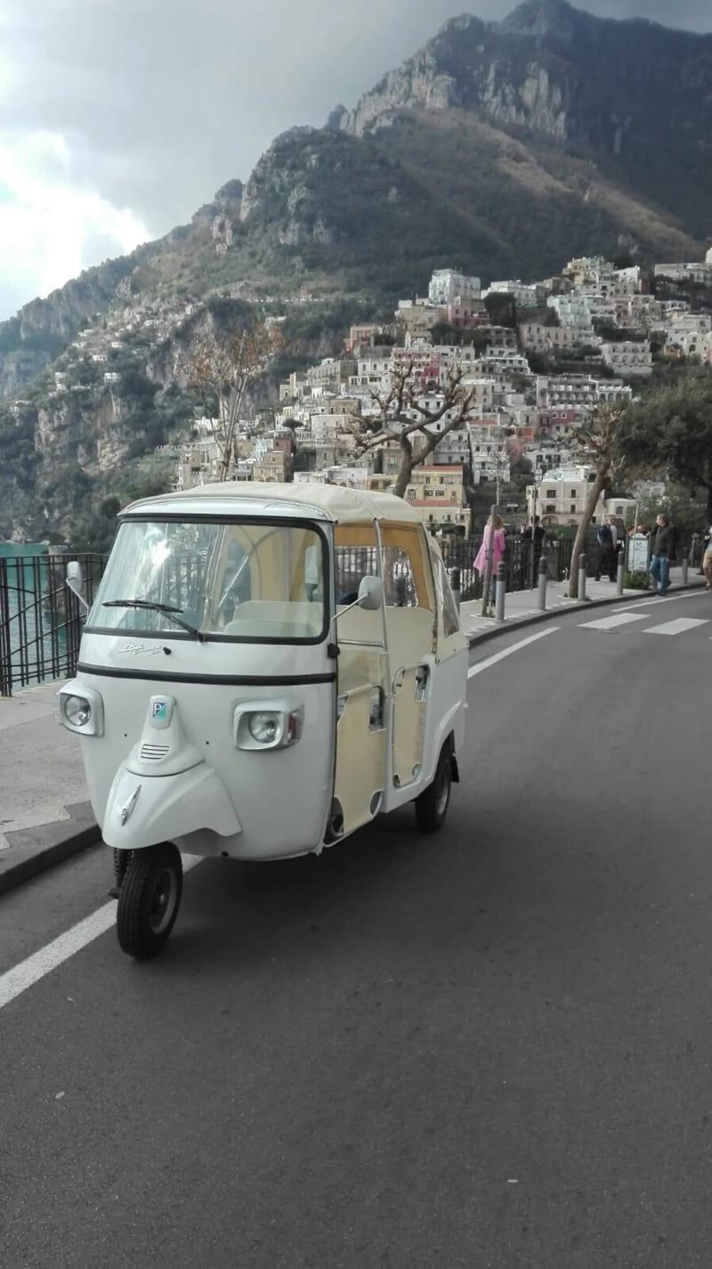 Italian Ape Dolce Vita Tour Amalfi Coast, Amalfi Coast