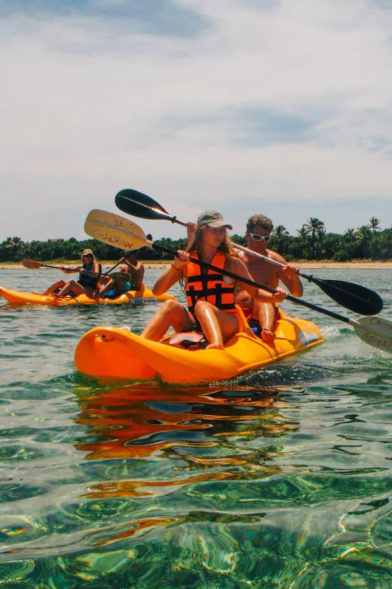 Kayak and Reef Snorkelling Adventure