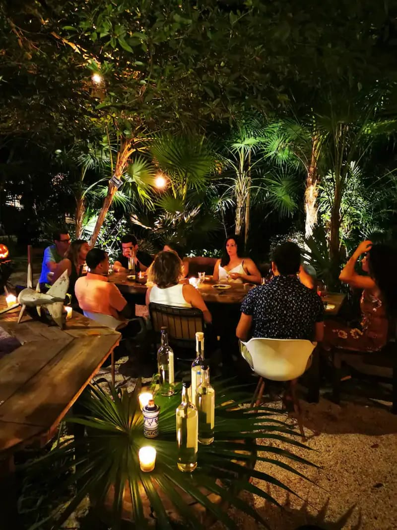 Mezcal Tasting and Dinner in the Jungle