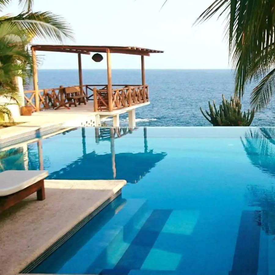 Casa Junto Al Mar Infinity Pool, Puerto Escondido