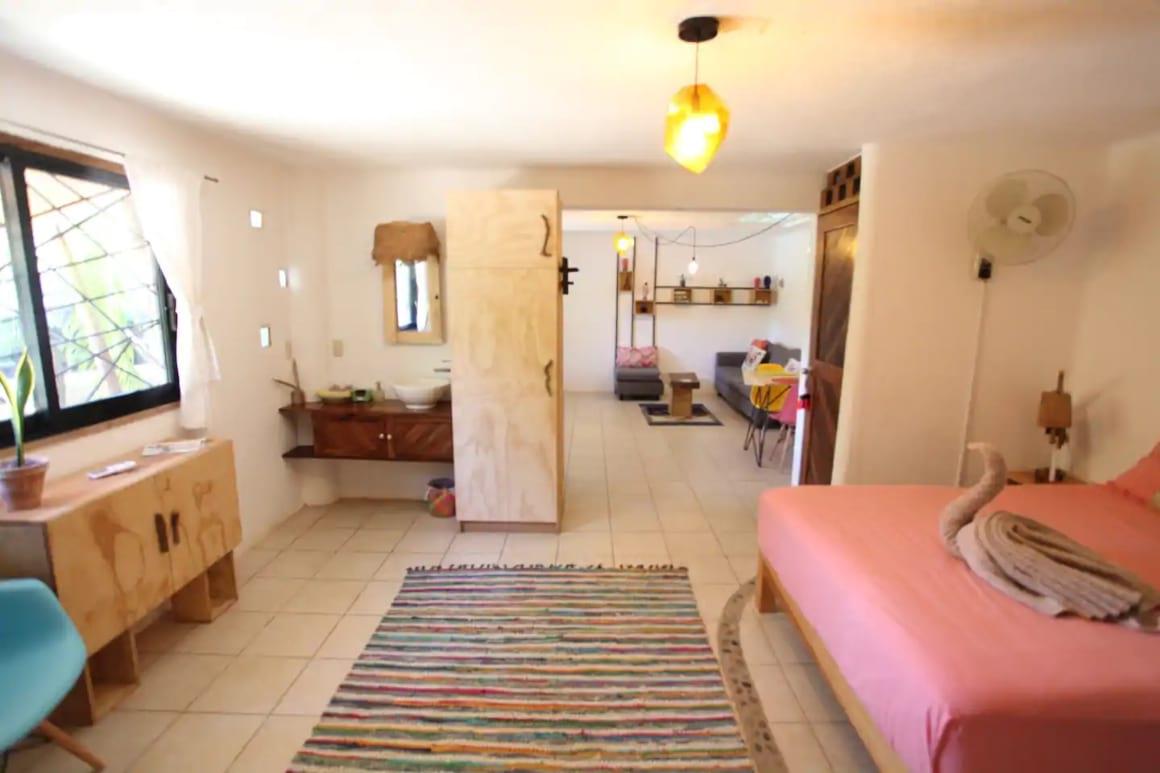 Cozy apartment close to the beach, Puerto Escondido