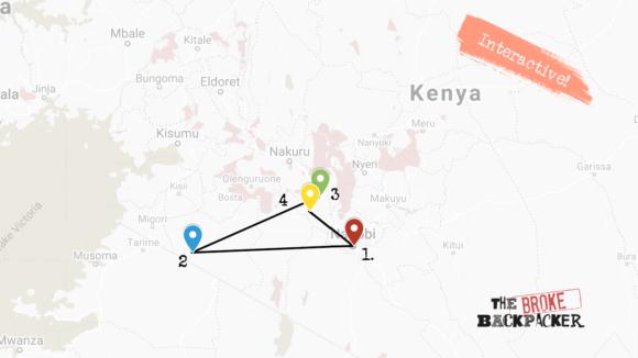 Kenya 10 day itinerary