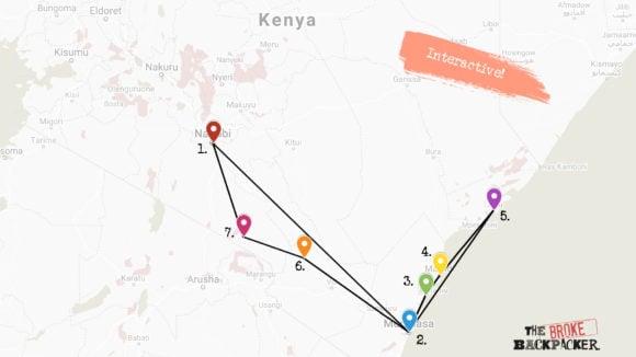 Kenya 1 month itinerary