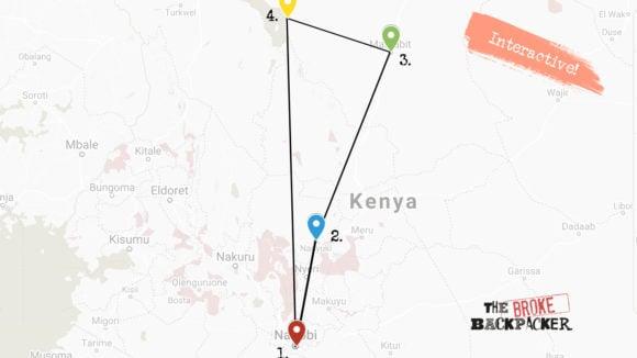 Kenya 6 week itinerary