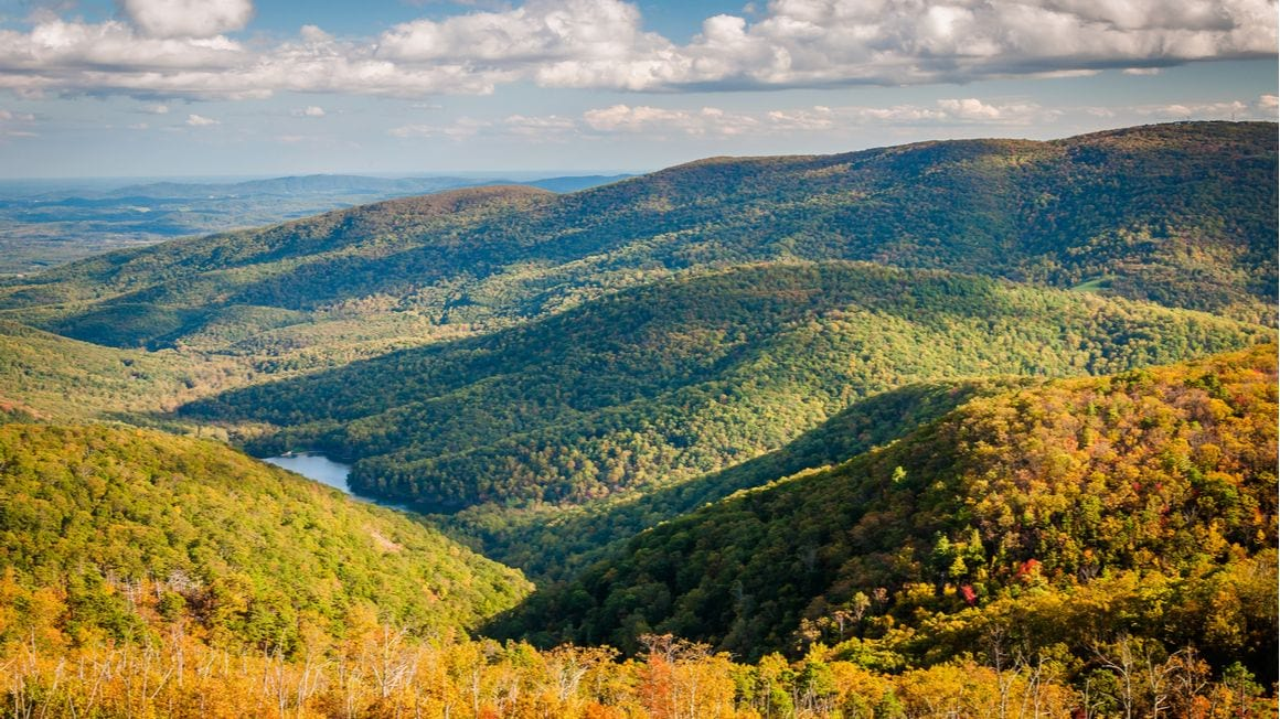 Charlottesville Shenandoah National Park