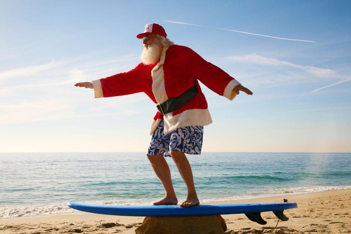 Santa Claus Beach
