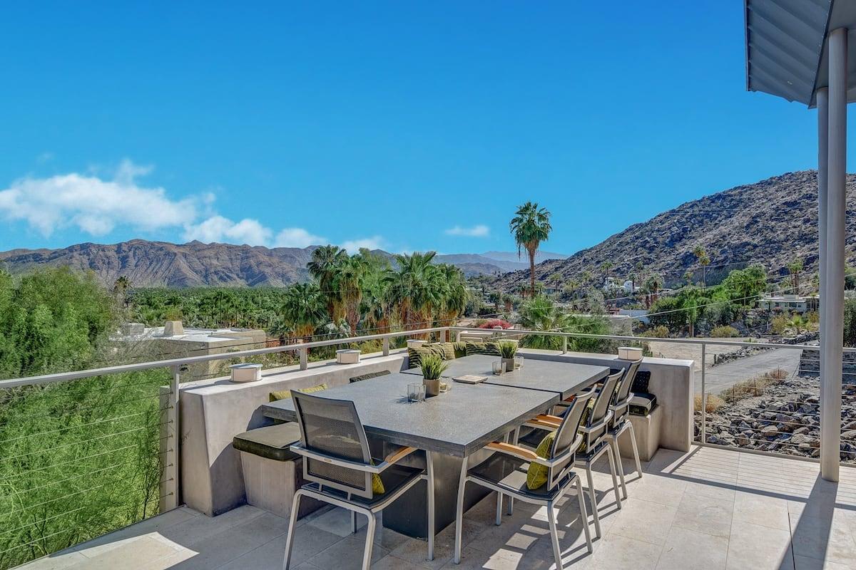 Designer Hillside Villa by Ruins and Mesa, Palm Springs