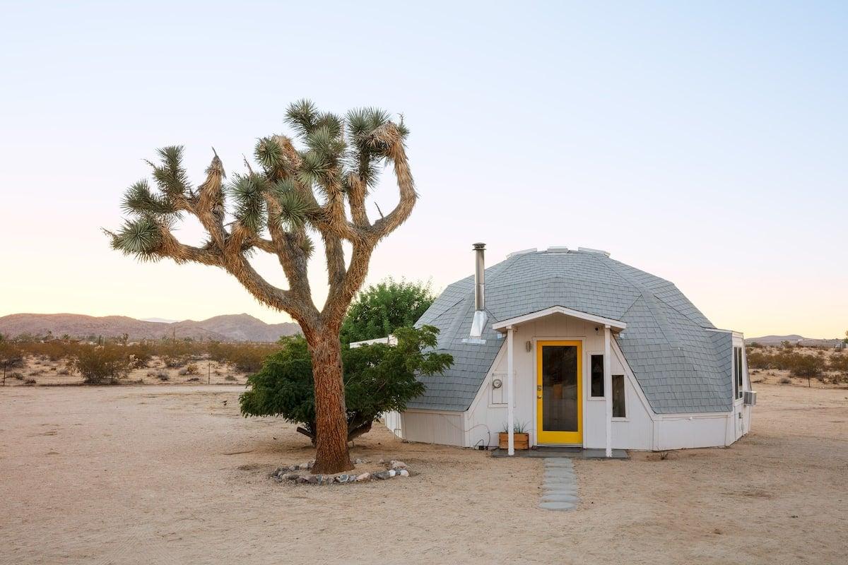Dome in the Desert in Joshua Tree, Palm Springs
