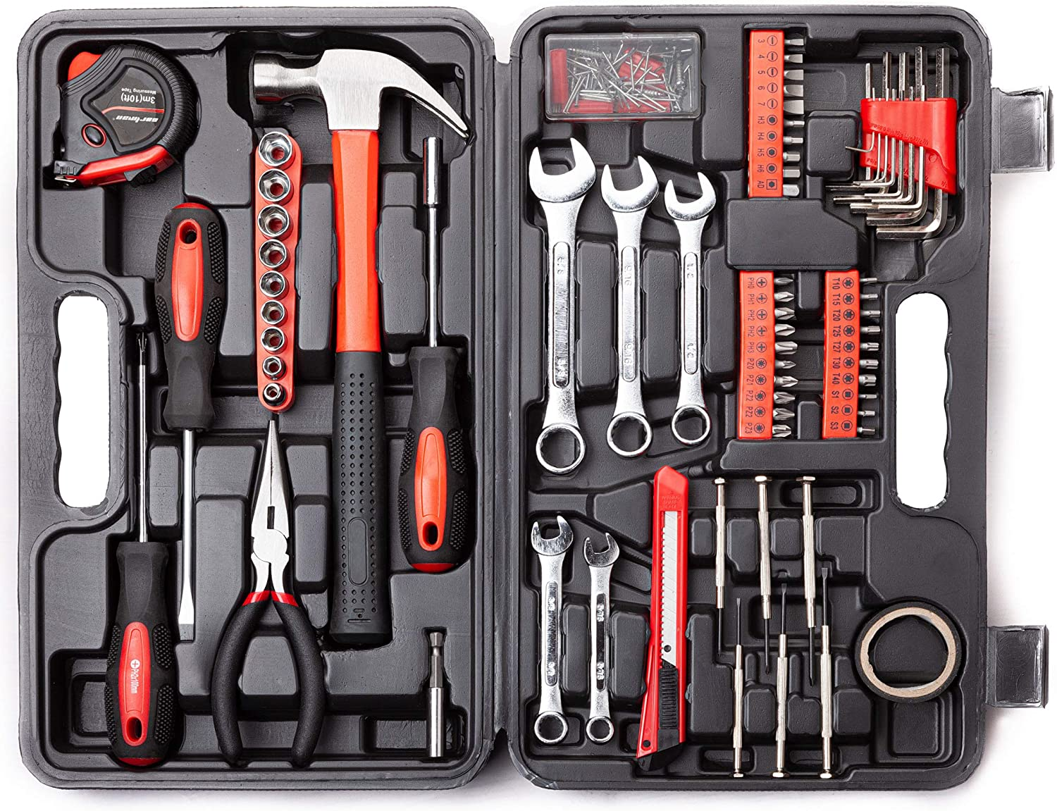 A toolbox filled with useful equipment for any RV packing list