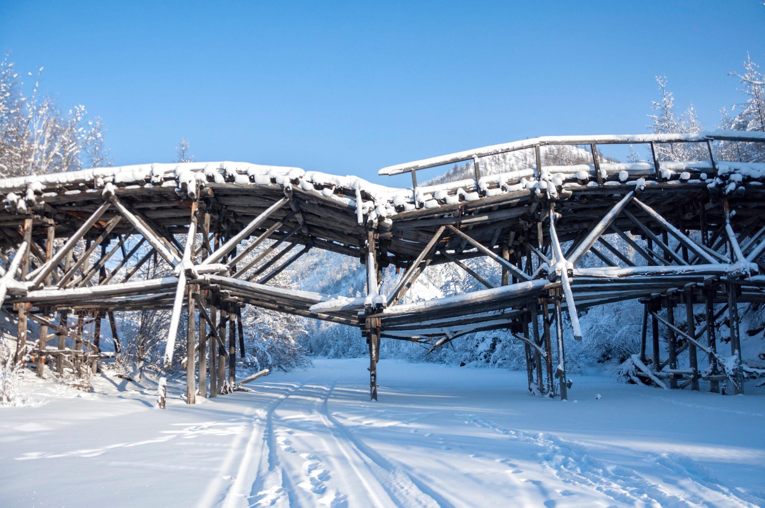 Road of Bones, Siberia in Russia