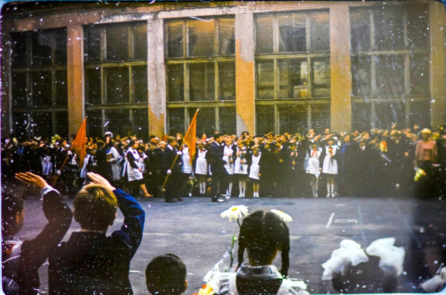 Soviet Parade in Kiev