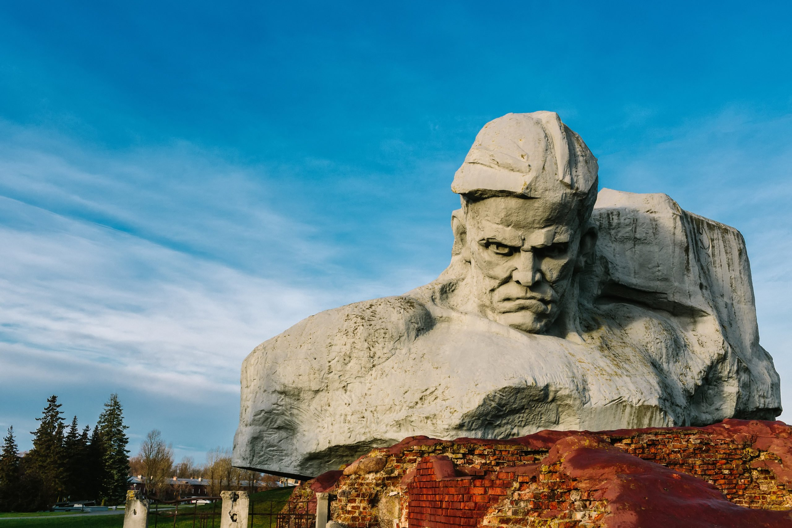 Giant Head. Brest in Belarus. From Shutterstock - By dulebenets