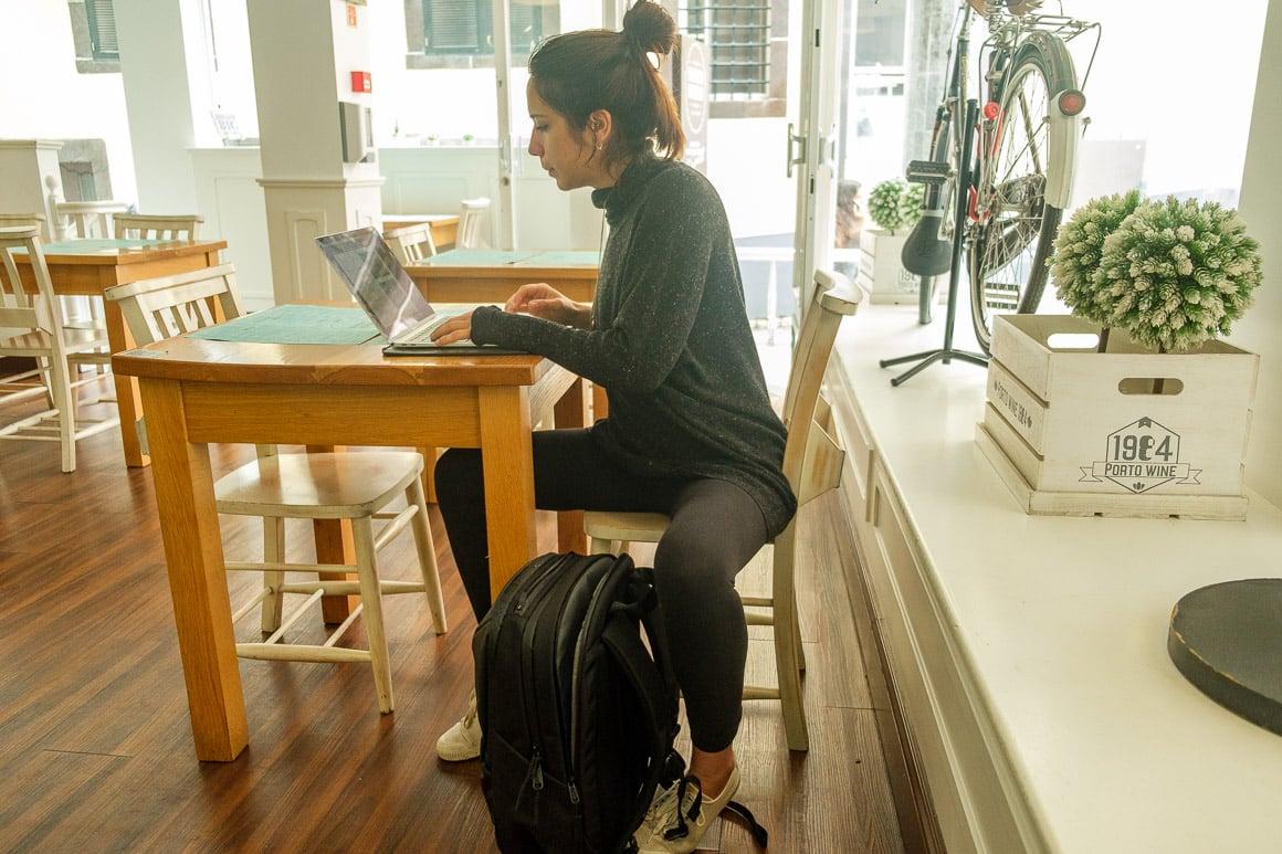 digital nomad backpack