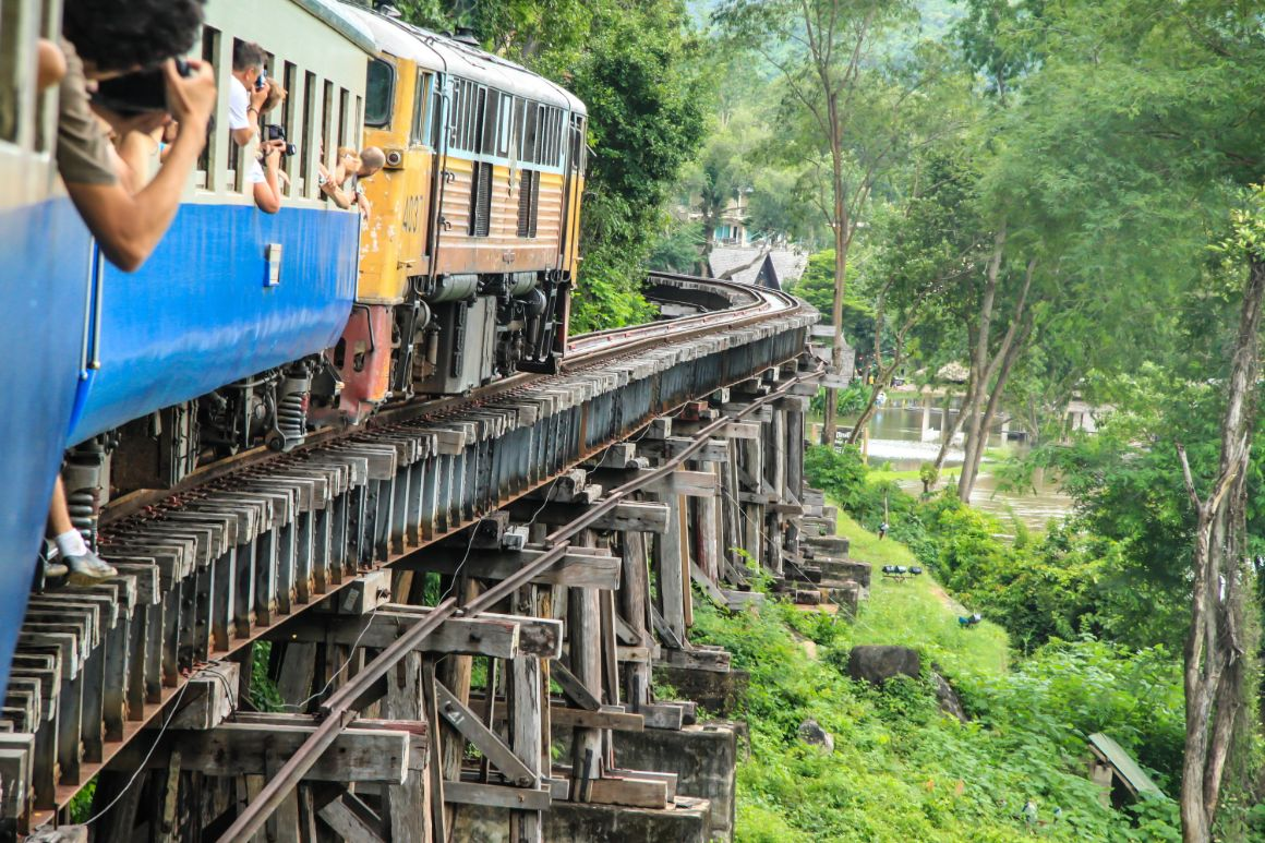 Take a Ride on the Death Railway in Thailand