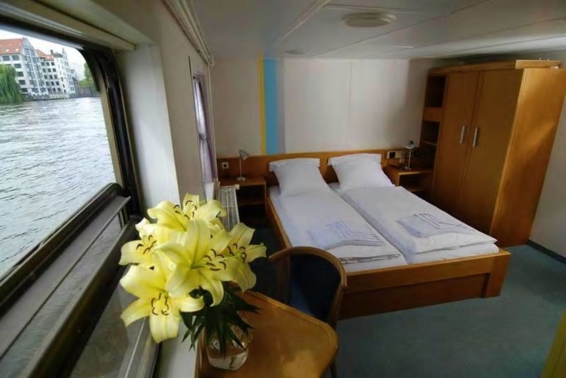 Eastern and Western Comfort Hostelboats Berlin Germany