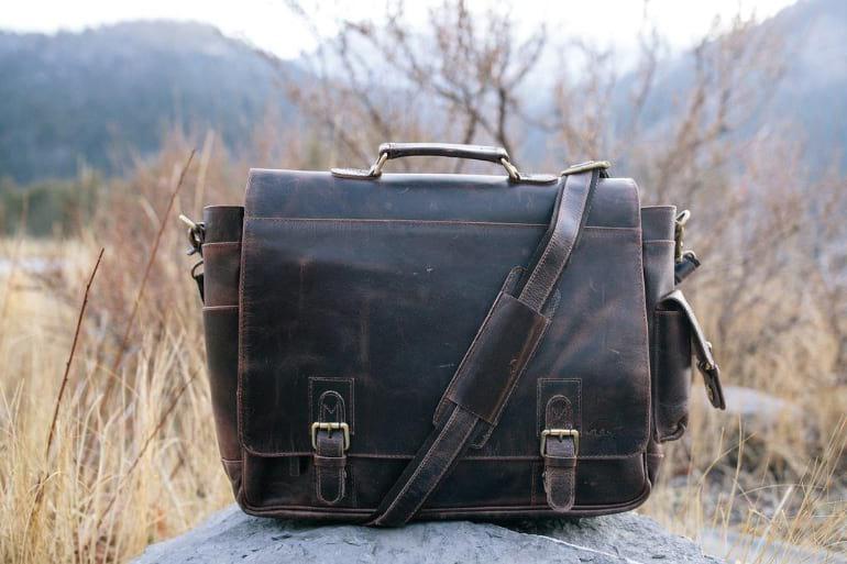 Kodiak Sitka Leather Messenger