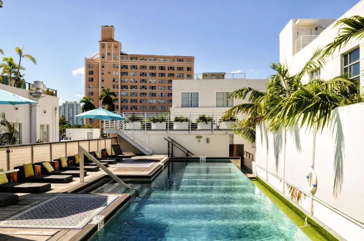 Posh South Beach Party Hostel Miami USA