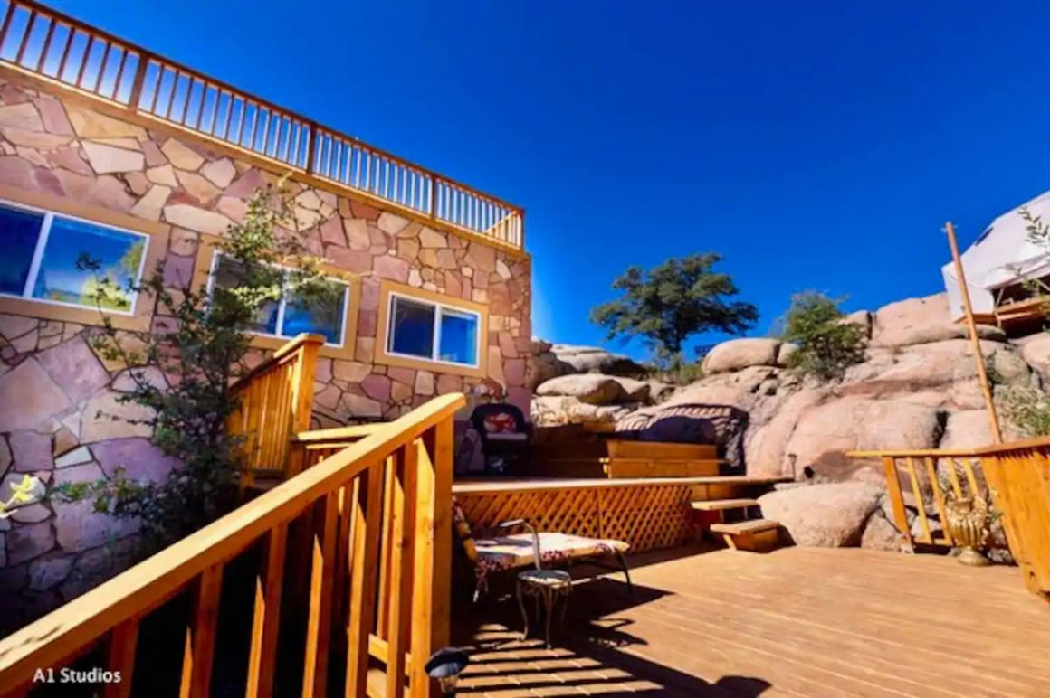 Wildly Spectacular Castle in the Granite Dells