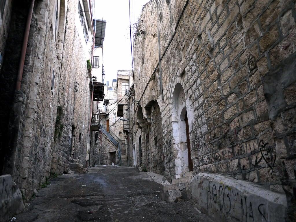 An old neighbourhood in Nablus, West Bank (Palenstine)