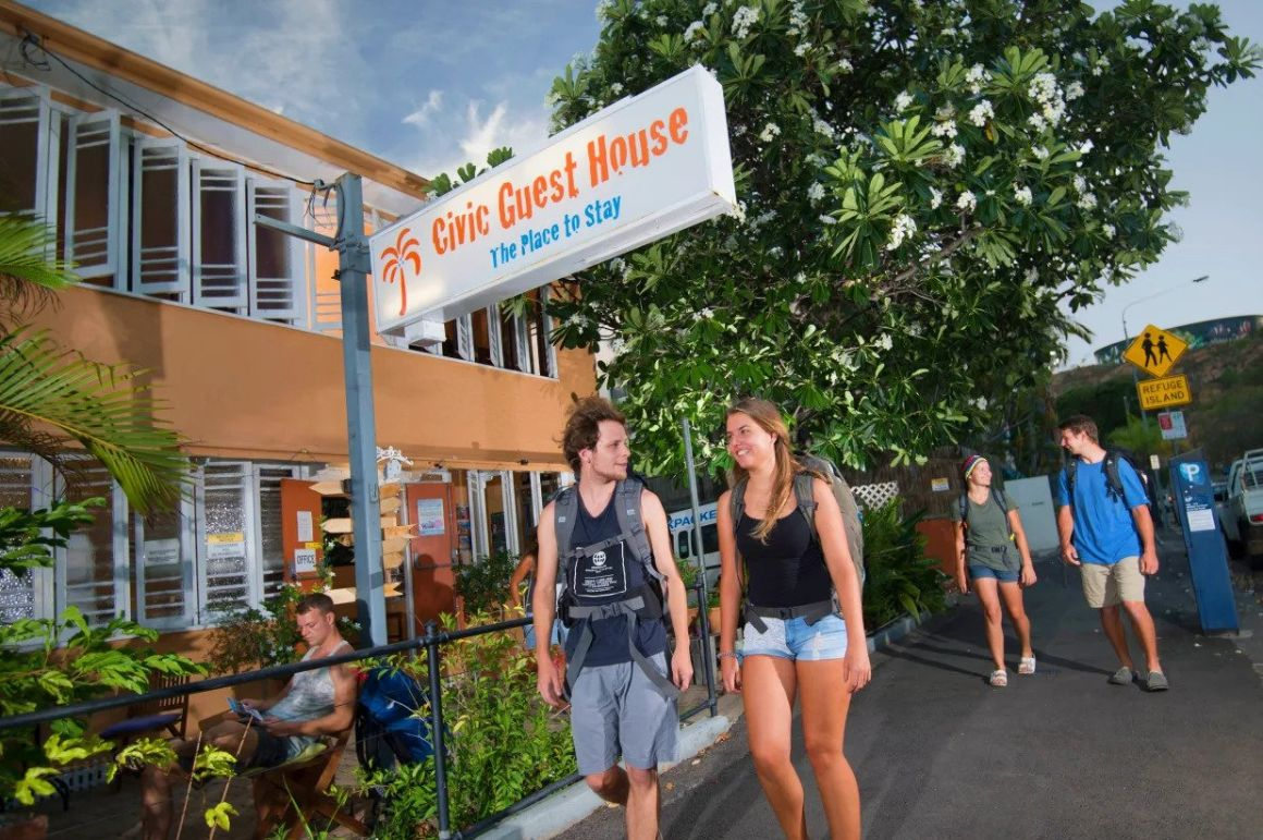 Civic Guest House Backpacker, Great Barrier Reef
