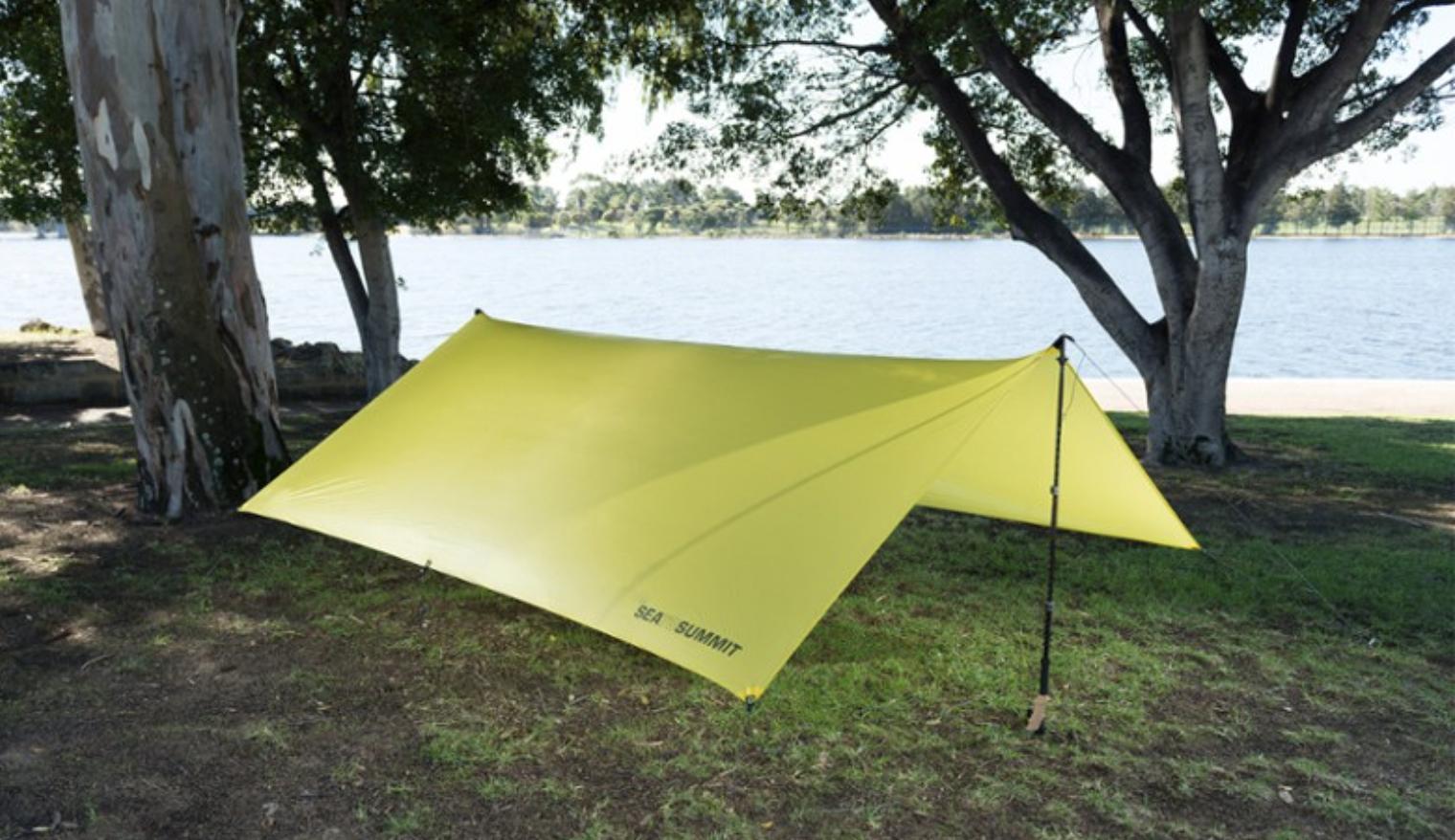 ultralight camp shelter