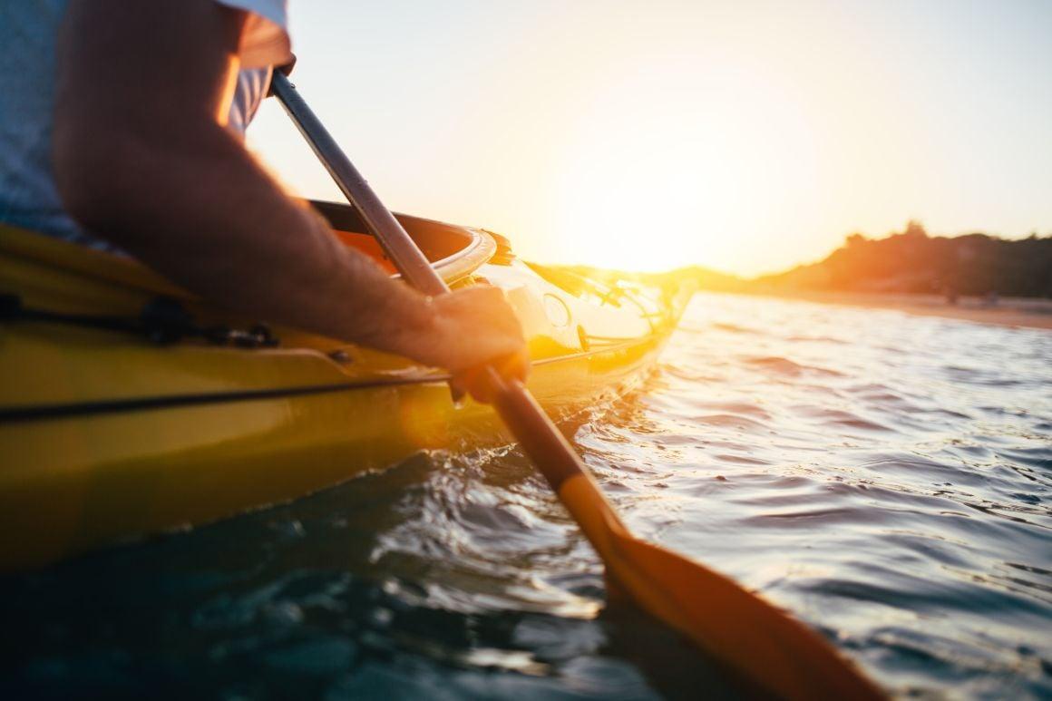 Take a Kayak Out in Santa Barbara