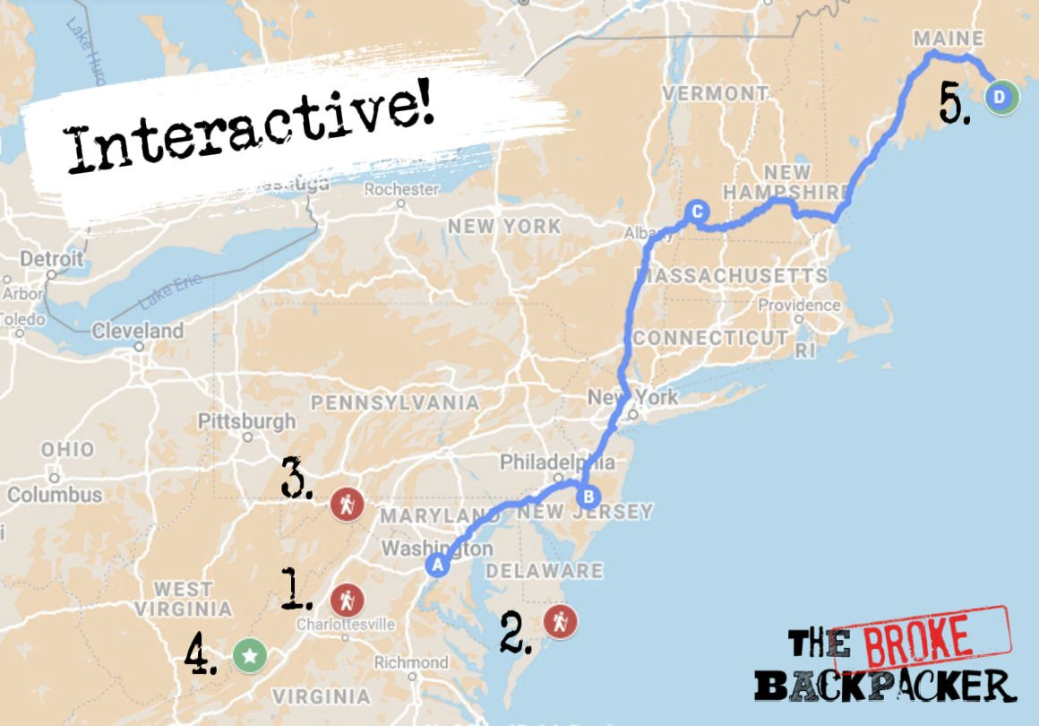 Places to Go with your rental RV in Maryland