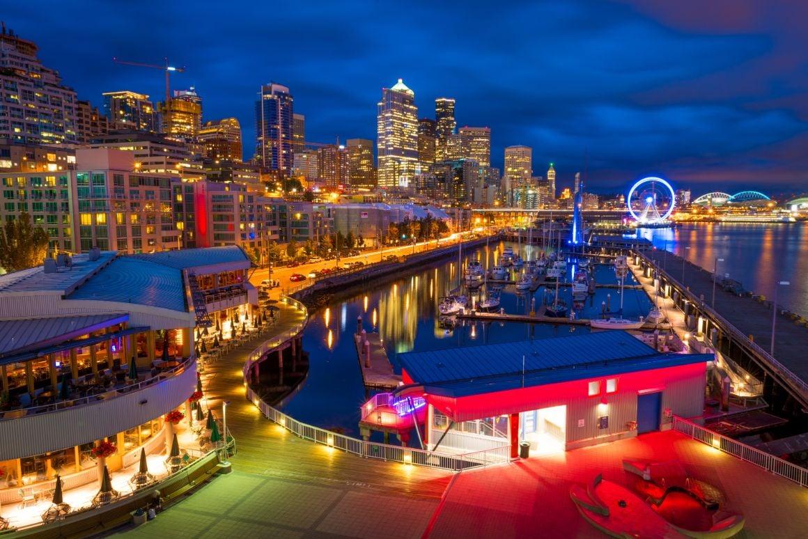 Walk along Seattle Waterfront