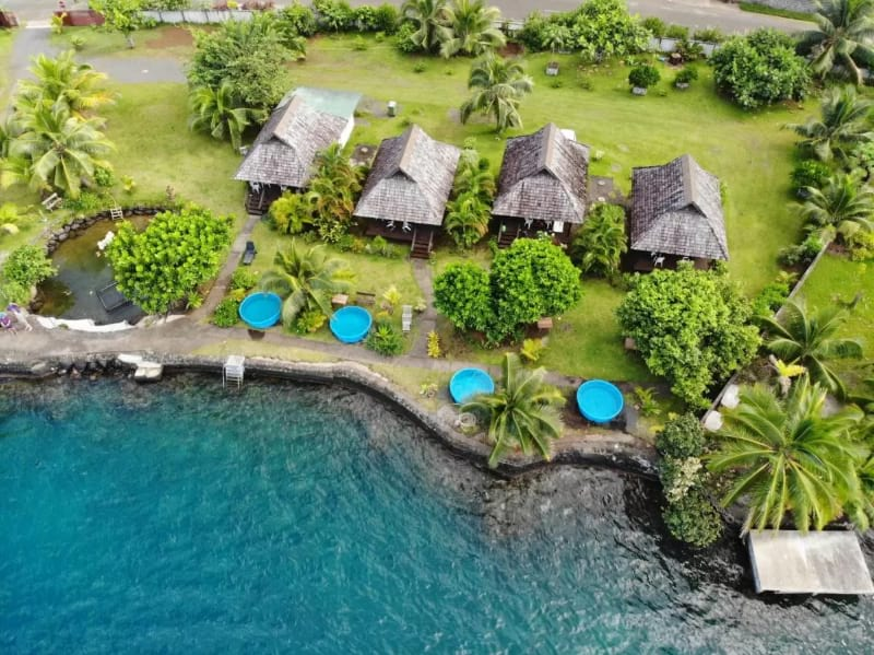 A Pueu Village Tahiti