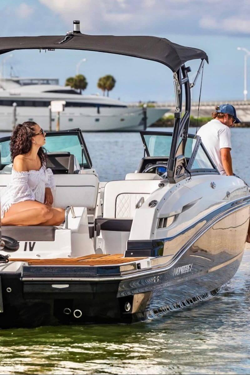 Breathtaking Skyline Boat Tour Day Night Miami Florida