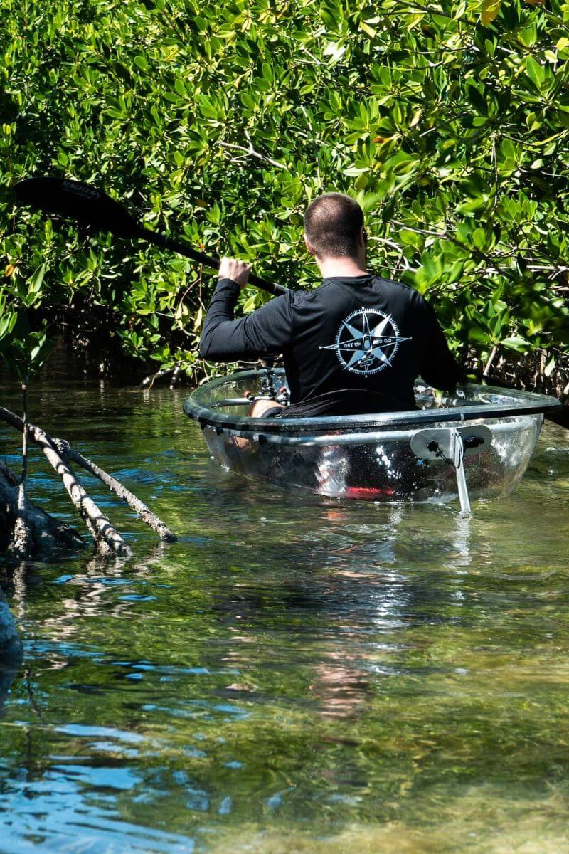 Clear Kayak Tour in the Florida Keys