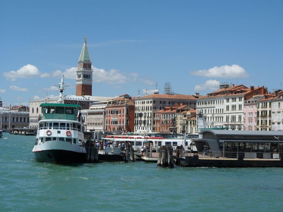 Ferry Travel in Venice