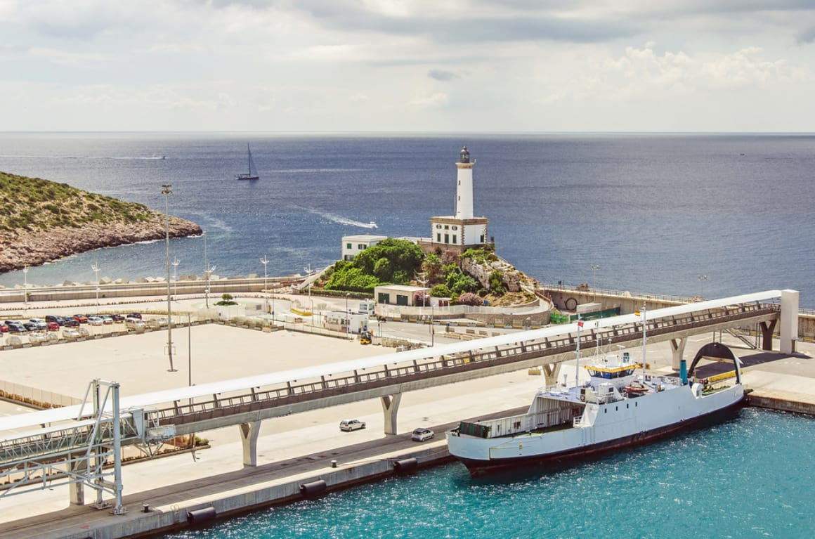 Ferry in Ibiza 2