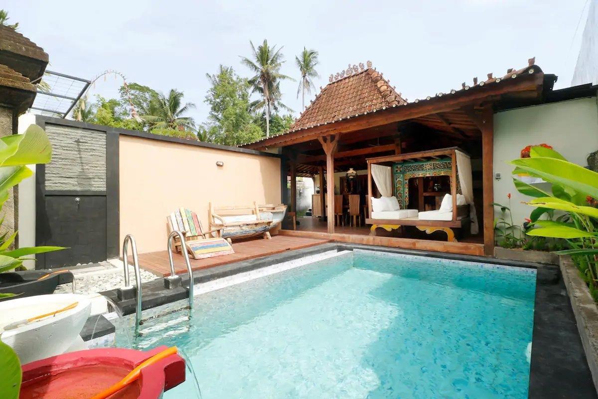 Joglo Wooden Villa in Ubud