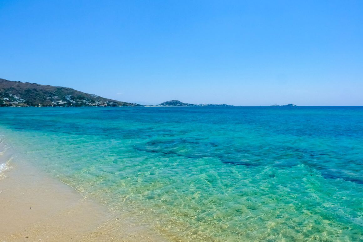 Plaka Beach Naxos Greece
