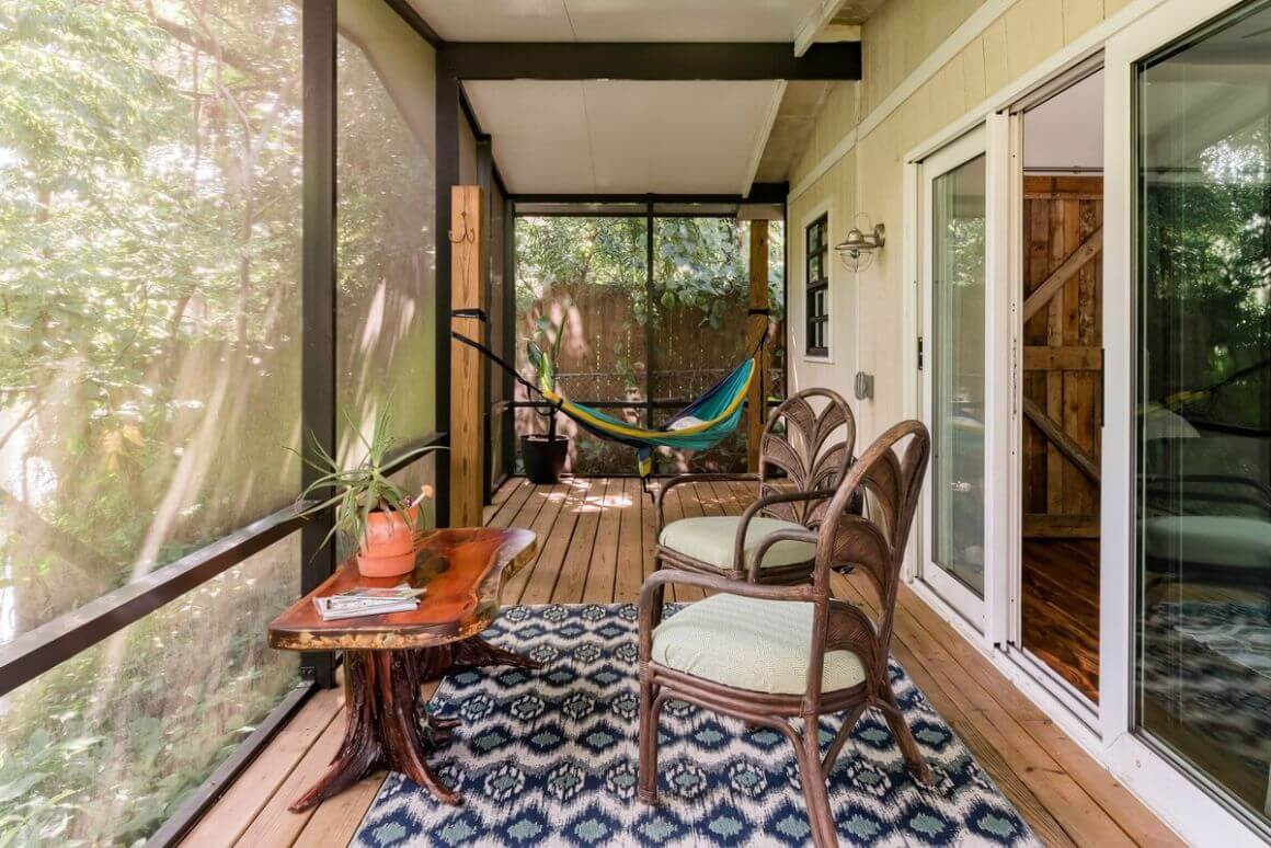 Riverside Guesthouse Tucked Away in Hip Seminole Heights Florida