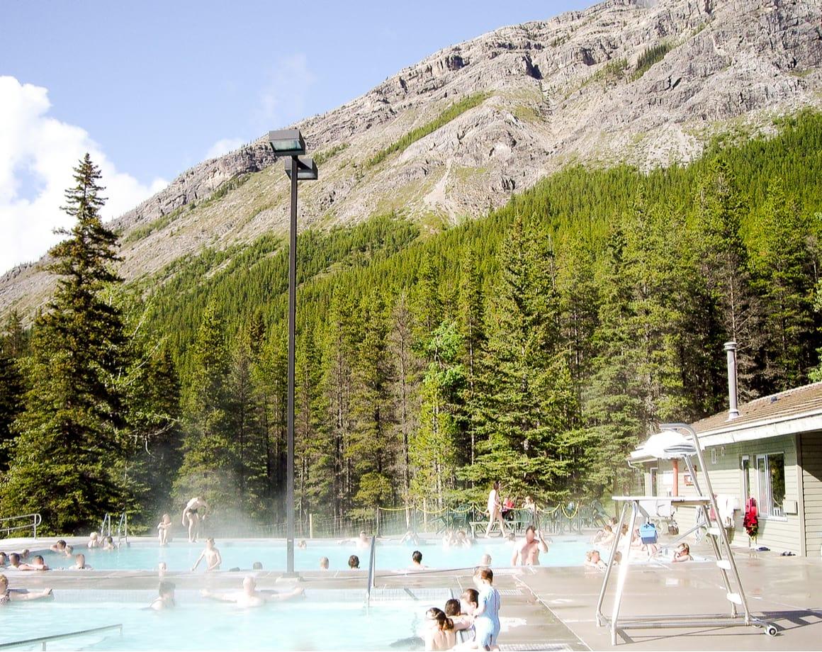 Miette Hot Springs, Where to Stay Jasper National Park 2