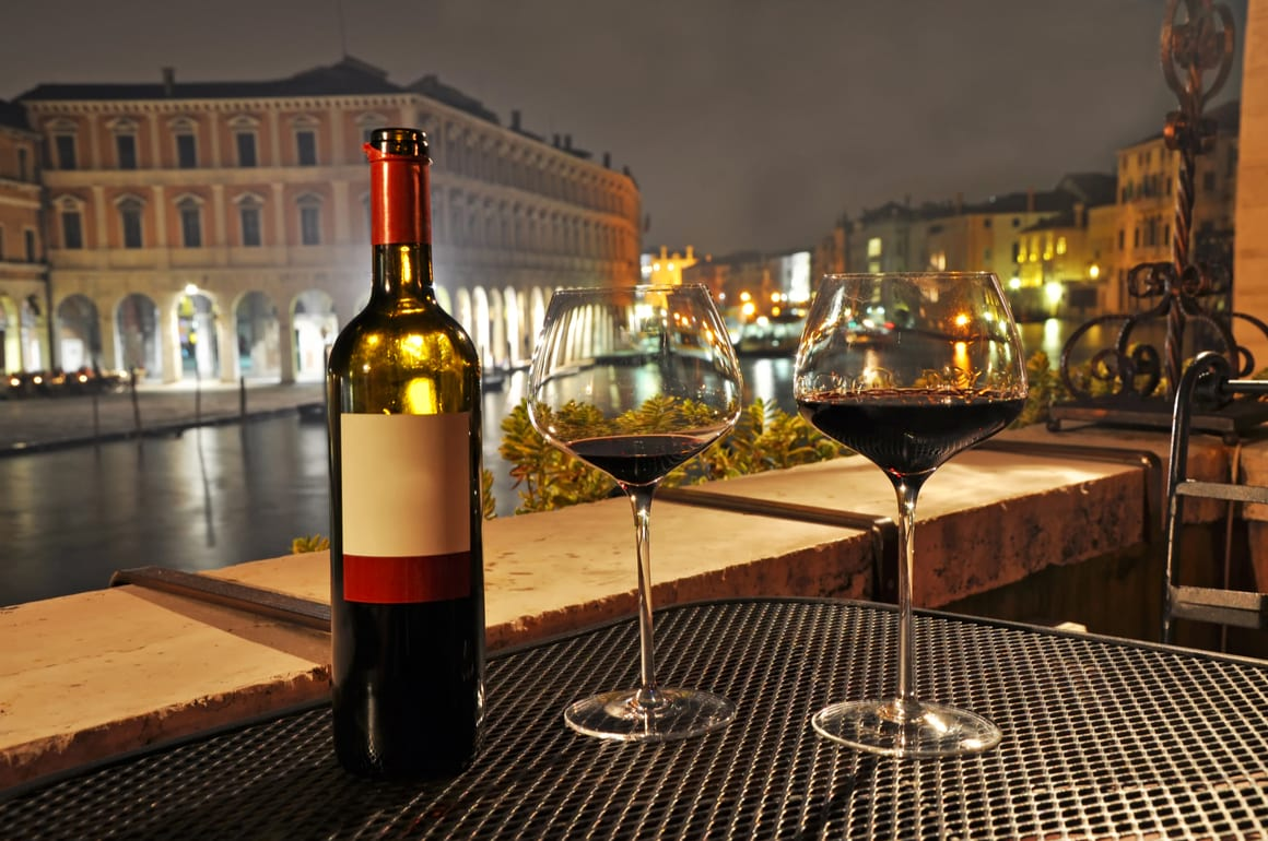 how much does alcohol cost in Venice