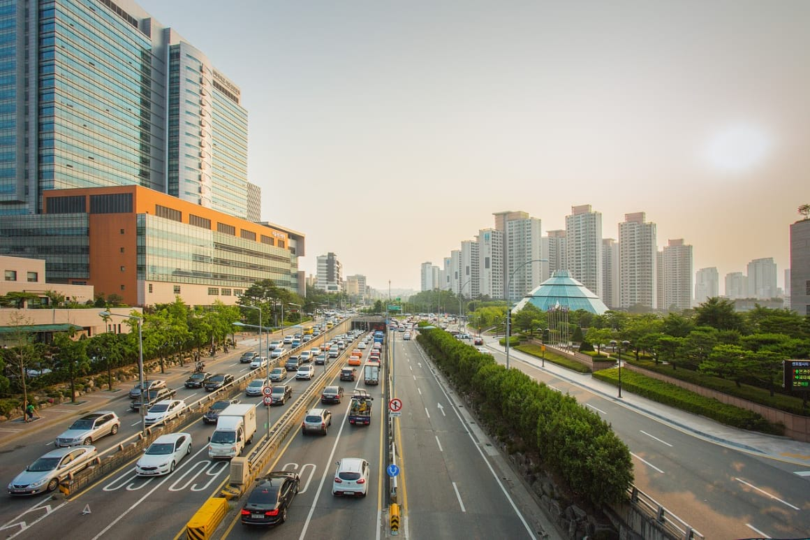 renting a car in South Korea