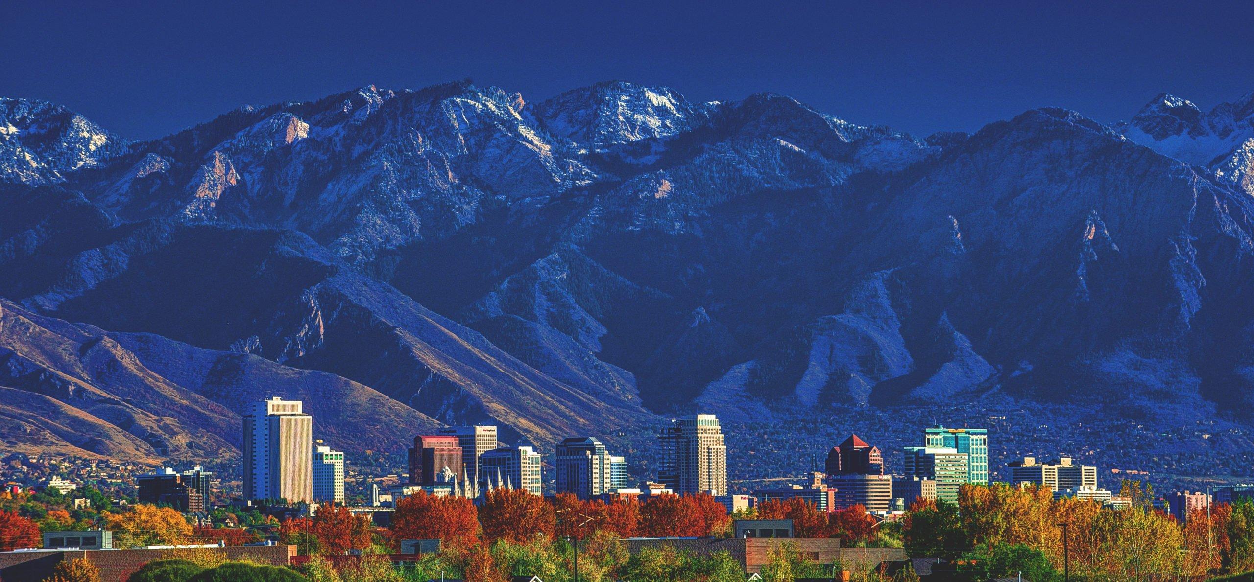 Salt Lake City. From Shutterstock - By Abbie Warnock-Matthews