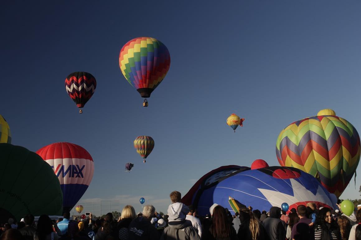 Hot Air Balloon Palm Springs