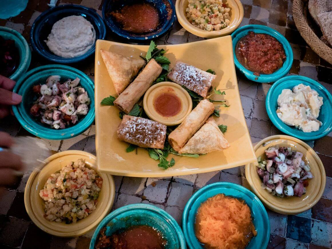 How much does food cost in Morocco
